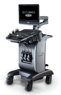 Alpinion E-Cube 9 ultrasound system for sale touch