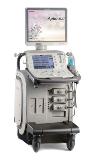 Canon Toshiba Aplio 300 Ultrasound System for Sale