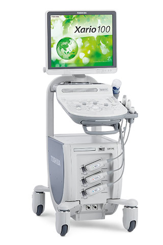 Canon Toshiba Xario 100 ultrasound system for sale