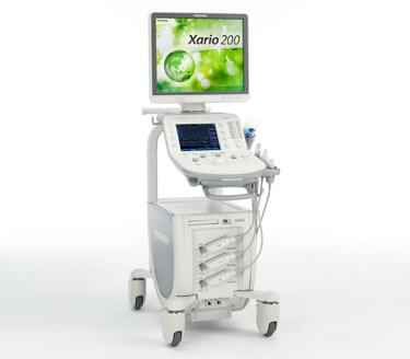 Canon Toshiba Xario 200 Ultrasound System for sale