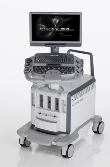Siemens Acuson SC2000 Prime ultrasound system for sale