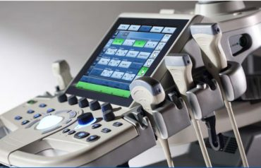 GE Logiq P9 Ultrasound System with Probes